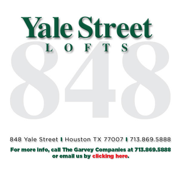 The Yale Street Lofts - 848 Yale Street | Houston TX 77007 | 713.869.5888